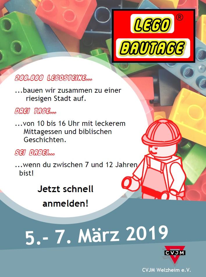 Lego Bautage Vom 5 7 Marz 2019 Cvjm Welzheim